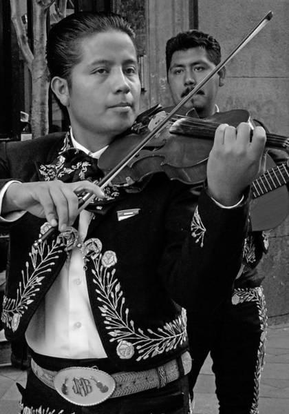 Ranchera Wall Art - Photograph - Mariachi-violin by Hugh Peralta