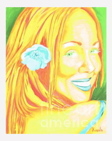 Painting - Mariah by Holly Picano