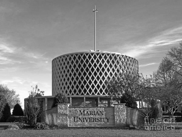 Photograph - Marian University Dorcas Chapel by University Icons