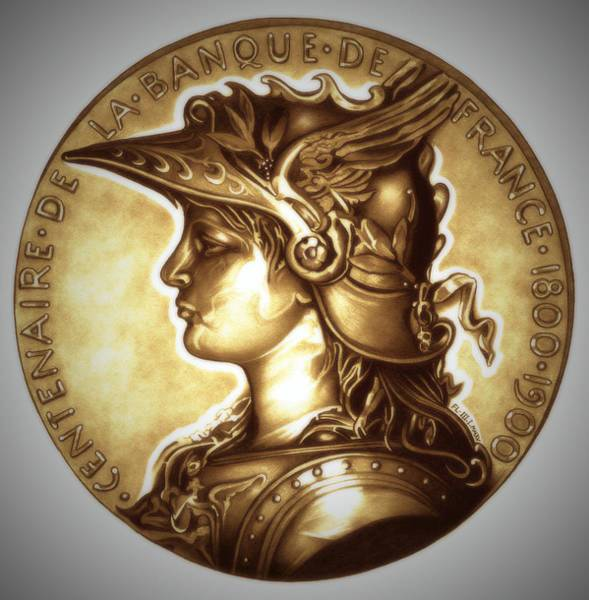 Drawing - Limited Edition  Marianne Gold by Fred Larucci
