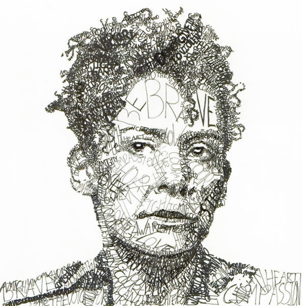 Journalism Wall Art - Drawing - Marianne Pearl by Michael Volpicelli