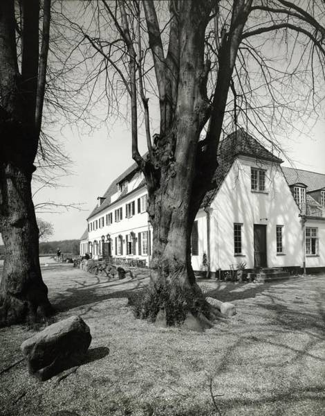 Country House Photograph - Mariannelund Kor And Birch Trees by Pedro E. Guerrero