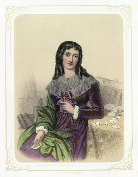 Drawing - Marie Anne Lenormand (1772-1843) by Granger