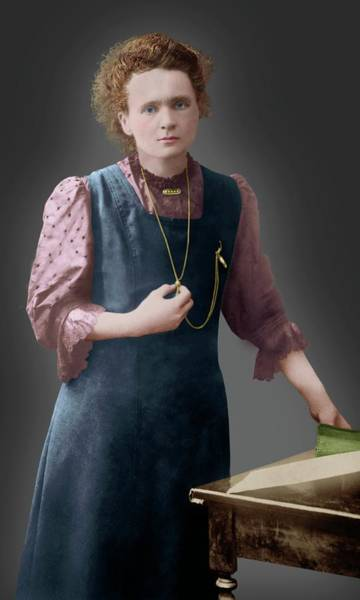 Wall Art - Photograph - Marie Curie by Library Of Congress