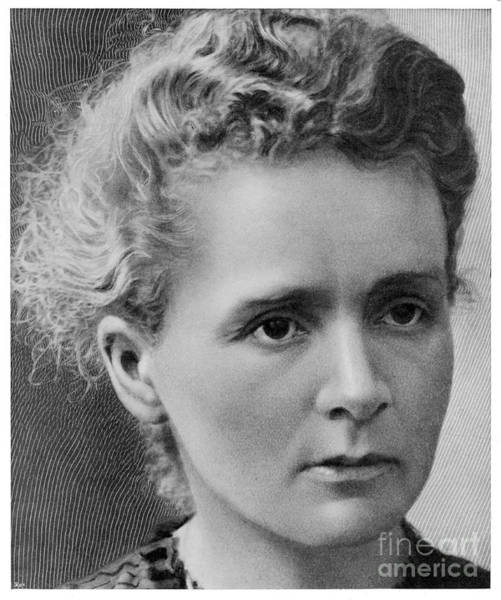 Photograph - Marie Curie by Mary Evans