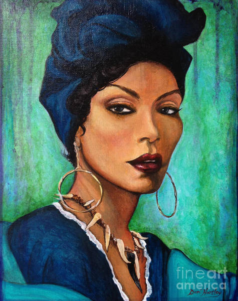 Wall Art - Painting - Marie Laveau by Dori Hartley