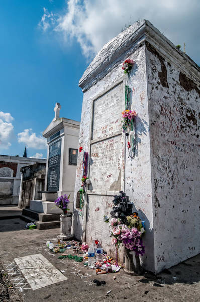 Photograph - Marie Laveau's Tomb by Andy Crawford