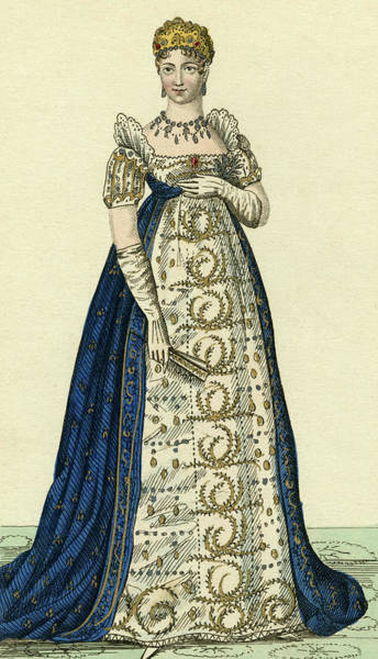 Wall Art - Drawing - Marie-louise Of Austria  French Empress by Mary Evans Picture Library