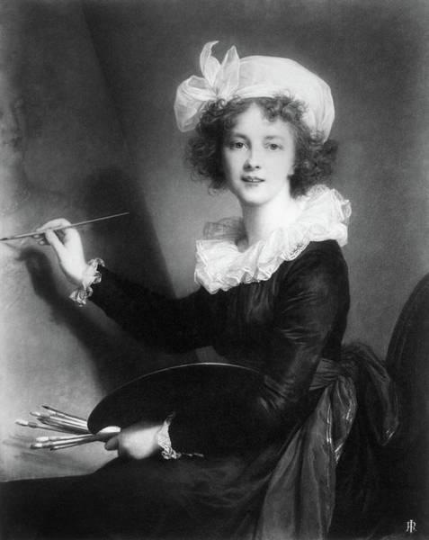 Painting - Marie Vigee-lebrun (1755-1842) by Granger