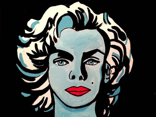 Painting - Marilyn 1 by Nikki Dalton