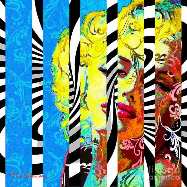 Marilyn 130 B Art Print