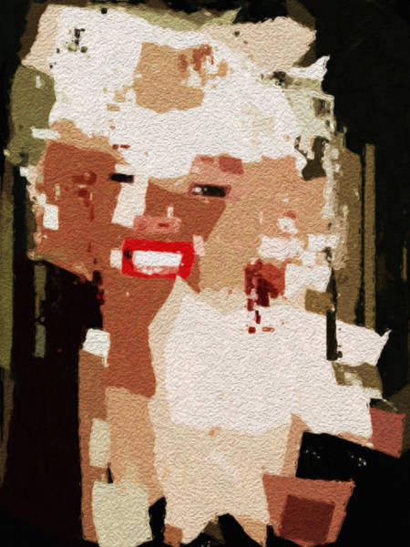 Digital Art - Marilyn by David Hansen