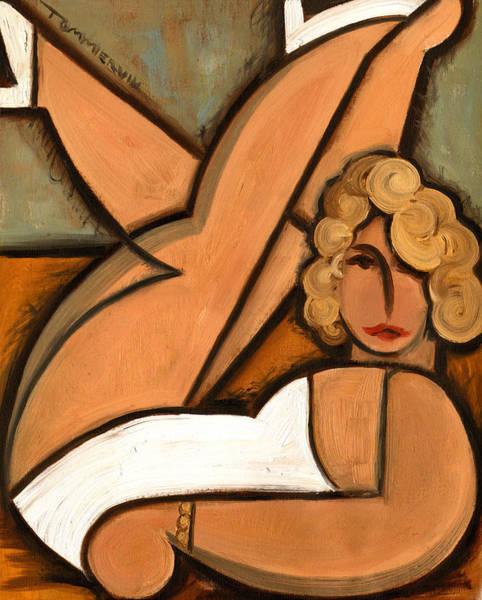 Monroe Painting - Marilyn Monroe Photo Shoot Art Print by Tommervik