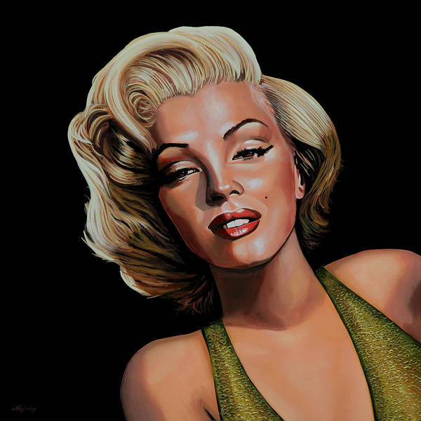 Sex Painting - Marilyn Monroe 2 by Paul Meijering