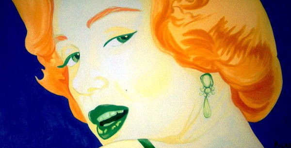 Painting - Marilyn Monroe by Holly Picano