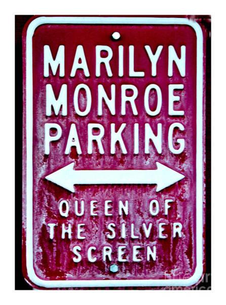Photograph - Marilyn Monroe by Mae Wertz