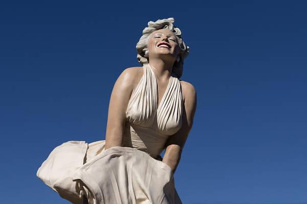 Marilyn Photograph - Marilyn Monroe Statue By Steward Johnson In Palm Springs by Carol M Highsmith