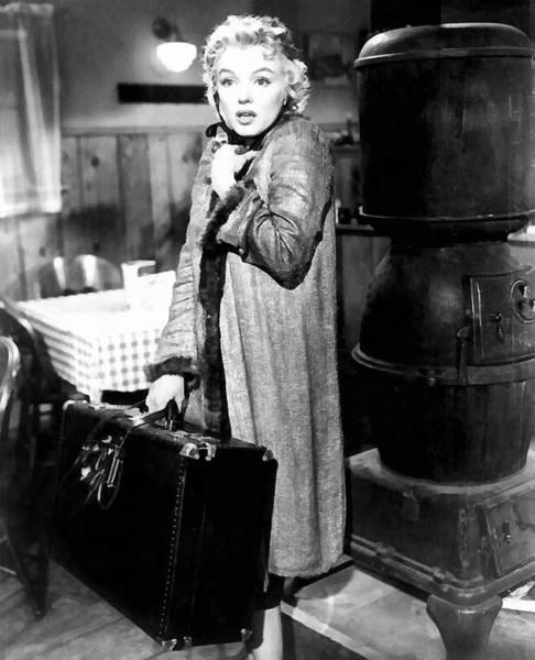 Liz Digital Art - Marilyn Monroe by Studio Photograph