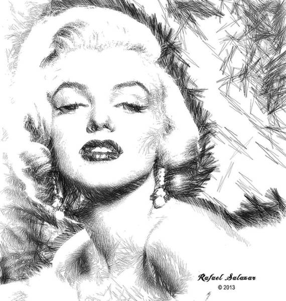 Marilyn Monroe - The One And Only  Art Print