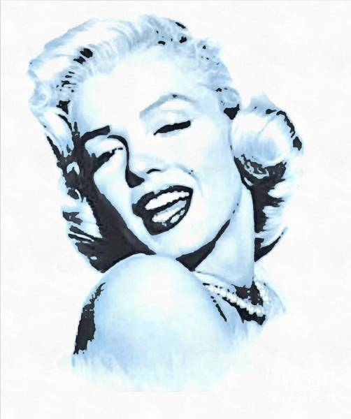 Painting - Marilyn Monroe Tribute Sing And Wink by Catherine Lott