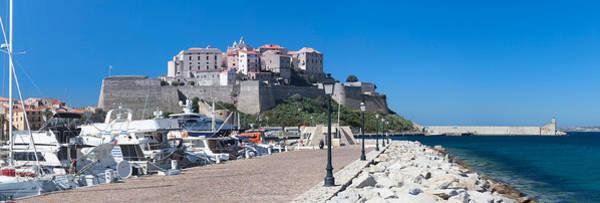 Calvi Photograph - Marina And Citadel, Calvi, Haute-corse by Panoramic Images