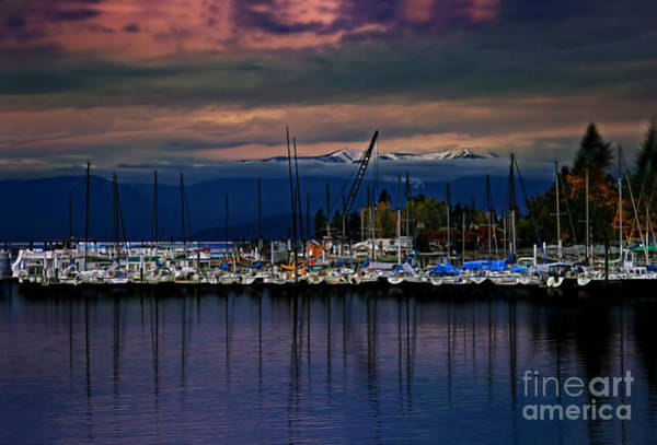 Wall Art - Photograph - Marina As Sun Sets by Scarlett Images Photography