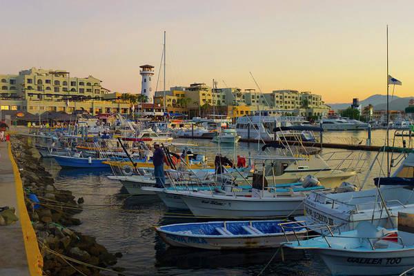 Lucas Photograph - Marina, Cabo San Lucas, Baja, Mexico by Douglas Peebles