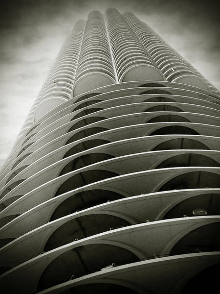 Wall Art - Photograph - Marina City Chicago Il by Christine Till