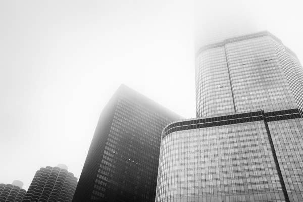 Bertrand Photograph - Marina City - Chicago by Niels Nielsen