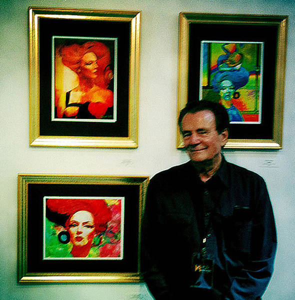 Photograph - Marina Del Rey Art Show by Chuck Staley