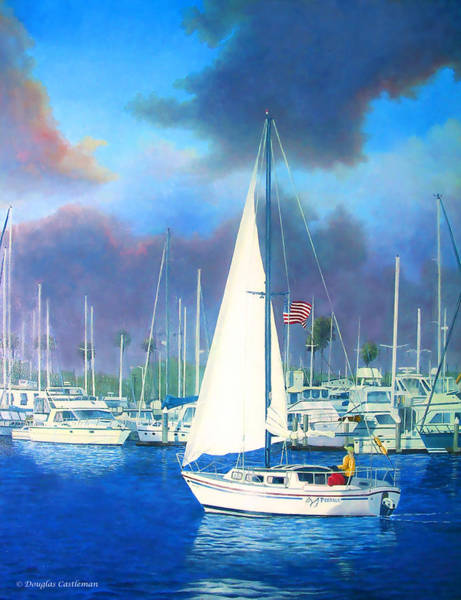 Painting - Marina by Douglas Castleman
