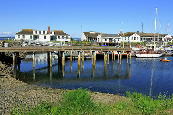 Port Townsend Photograph - Marina In Port Townsend by Richard Cummins