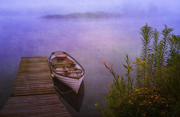 Photograph - Marina Rowboat Take Two by Tom Singleton