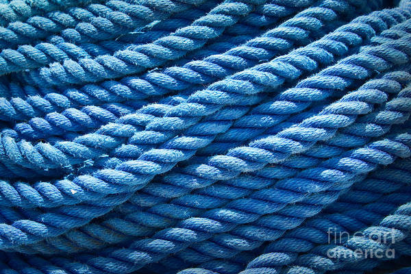 Rigging Photograph - Marine by Delphimages Photo Creations