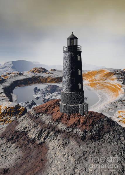 Digital Art - Marine Memory - Surrealism by Sipo Liimatainen