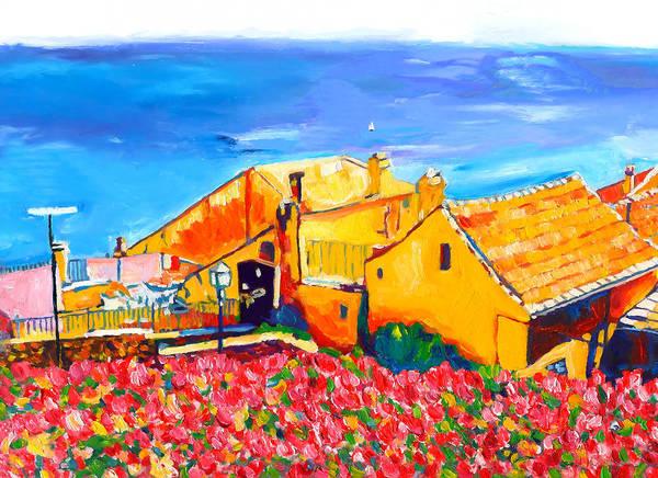Southern France Painting - Marine-oceane by Vel Verrept