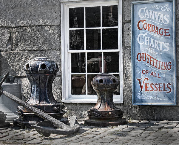 Photograph - Mariner Shop by Bill Wakeley