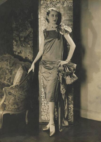 Screen Photograph - Marion Morehouse In Conde Nast Apartment by Edward Steichen