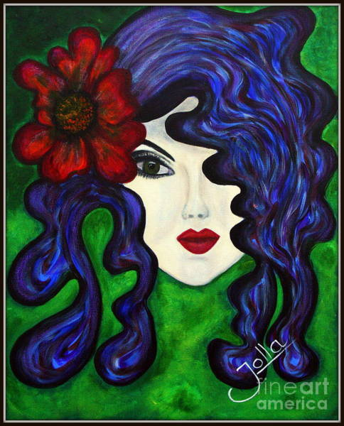 Painting - Mariposa Fairy Queen by Jolanta Anna Karolska