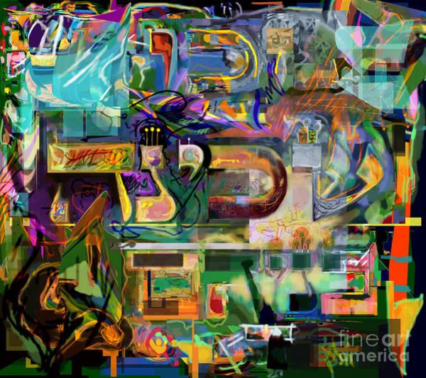 Realization Digital Art - Marital Harmony 54 by David Baruch Wolk