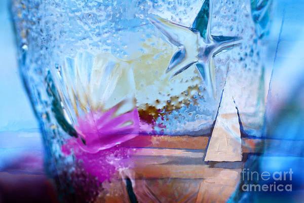 Glass Mixed Media - Maritime Composing by Lutz Baar