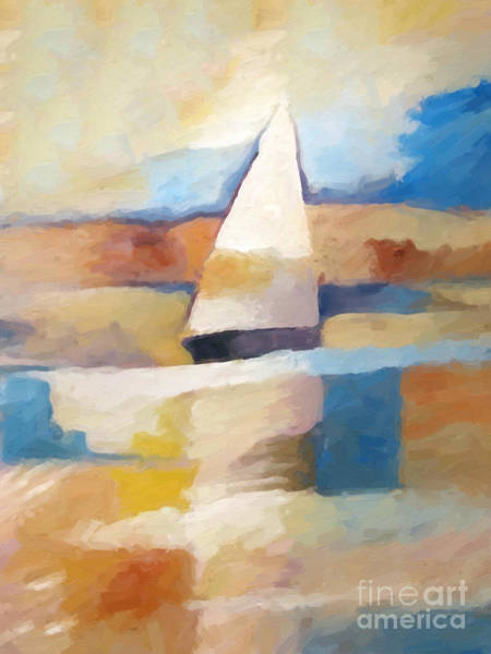 Painting - Maritime Impression by Lutz Baar