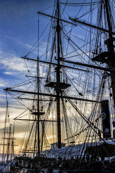 Digital Art - Maritime Museum Sunset by Photographic Art by Russel Ray Photos