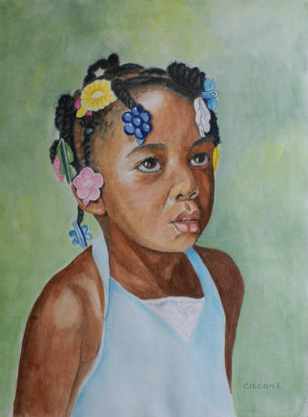 Painting - Mariyah by Jill Ciccone Pike