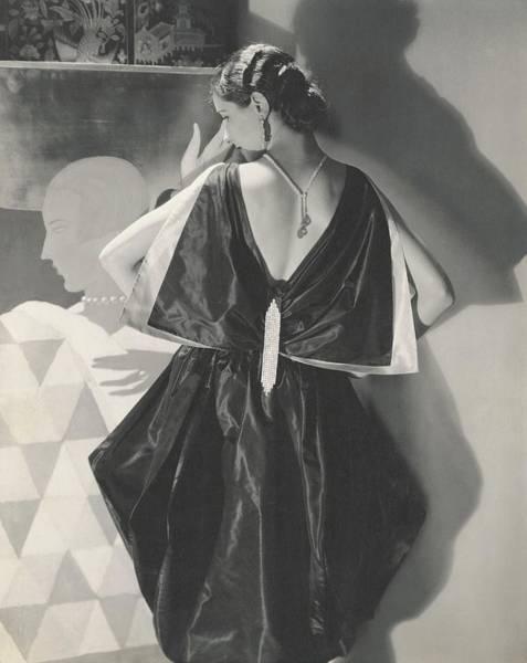 Lanvin Photograph - Marjorie Willis Wearing A Dress By Lanvin by Edward Steichen