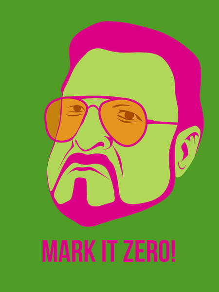 Wall Art - Digital Art - Mark It Zero Poster 2 by Naxart Studio
