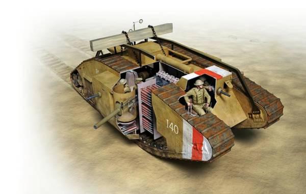 Mark Iv Wall Art - Photograph - Mark Iv Tank by Jose Antonio Pe�as