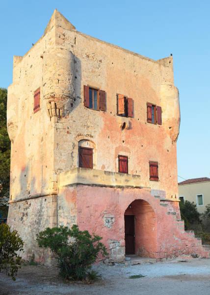 Photograph - Markellos Tower In Aegina by Paul Cowan