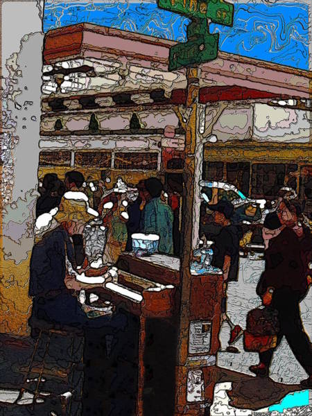 Busker Wall Art - Digital Art - Market Busker 10 by Tim Allen