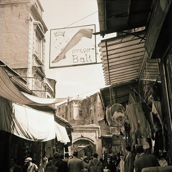 Wall Art - Photograph - Market In Turkey by Horst P. Horst